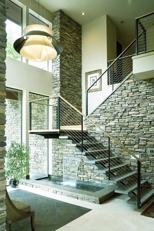 现代风格复式楼楼梯设计效果图赏析
