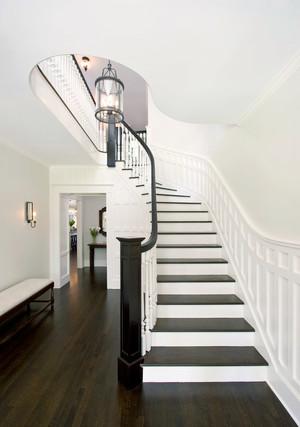 现代风格别墅时尚楼梯装修效果图
