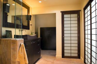 10平米日式风格主卫生间装修效果图赏析