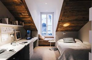 卧室 北欧 阁楼 复式装修