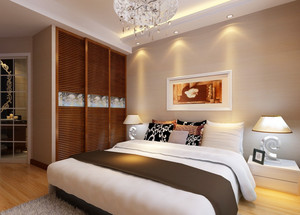 卧室 现代 局部其他 三居室装修