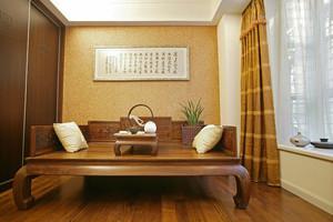 古典中式风格书房榻榻米装修效果图鉴赏