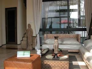 小户型东南亚风格室内整体设计足彩导航效果图