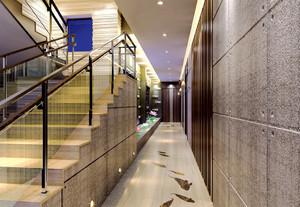 455平米現代風格酒店過道裝修效果圖賞析