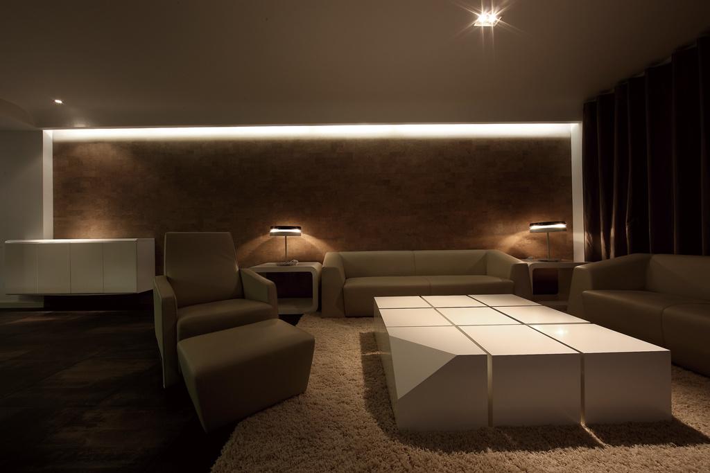 现代原木风格一居室室内装修效果图赏析