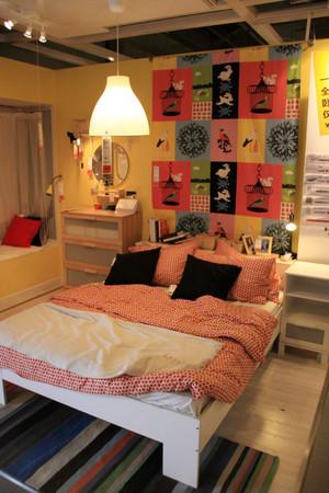 70平米都市混搭风格女生卧室装修效果图