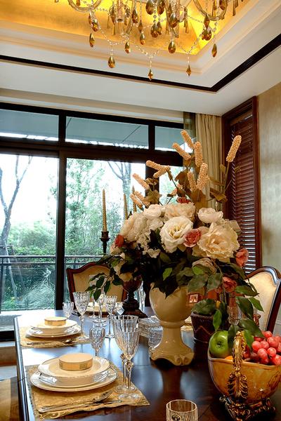368平米现代简约混搭欧式风格独栋别墅装修效果图赏析