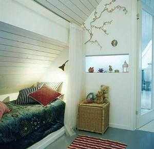 卧室 北欧 阁楼 120平米装修