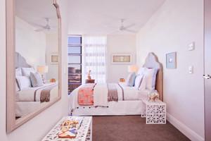 卧室 简欧 窗帘 三居室装修