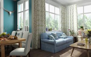 空间其他 欧式 窗帘 90平米装修