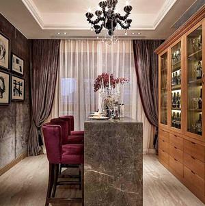 古典欧式风格大户型酒柜设计效果图赏析