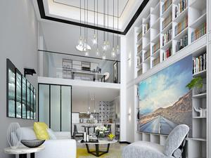 160平米新中式风格跃层室内装修效果图
