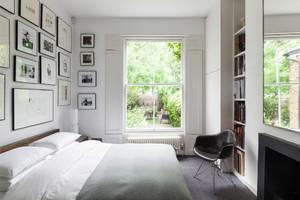 卧室 美式 照片墙 别墅装修