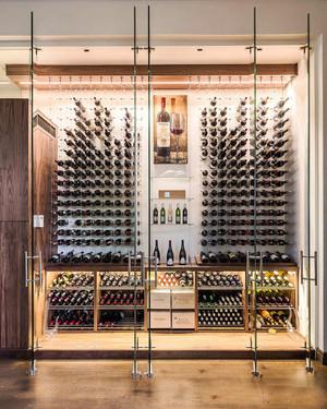 120平米现代风格创意酒柜设计效果图赏析