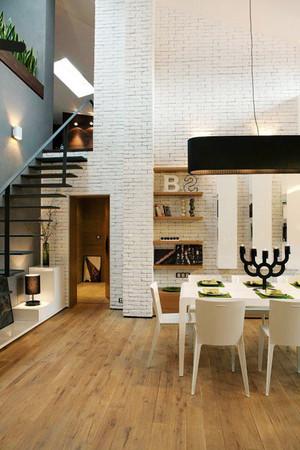 后现代风格室内楼梯装修效果图大全赏析