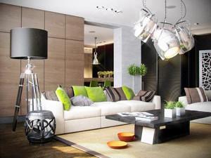 40平米现代简约风格单身公寓装修效果图鉴赏