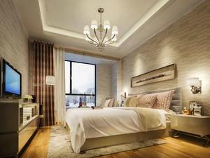 卧室 现代 局部其他 100平米装修