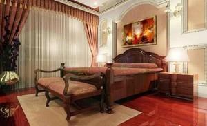 30平米欧式风格酒店客房设计装修效果图
