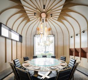 98平米现代风格酒店包厢装修效果图