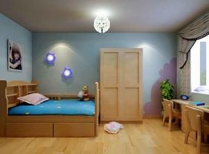 10平米宜家风格简约舒适儿童房装修效果图