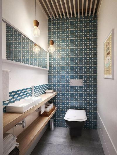 日式风格小户型室内卫生间装修效果图赏析