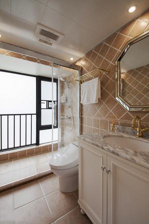 時尚混搭風格大戶型室內衛生間裝修效果圖賞析