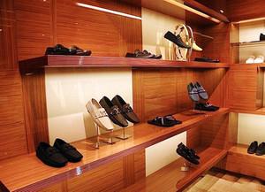 30平米现代风格鞋店设计装修效果图赏析