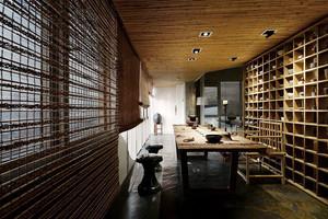 中式风格古典雅韵茶楼设计装修效果图
