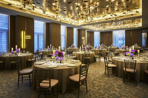 中式風格五星級酒店餐廳裝修效果圖賞析