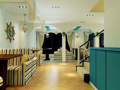 地中海风格异域情调餐厅设计装修效果图