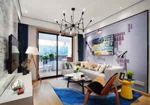 混搭风格时尚创意客厅设计装修效果图赏析