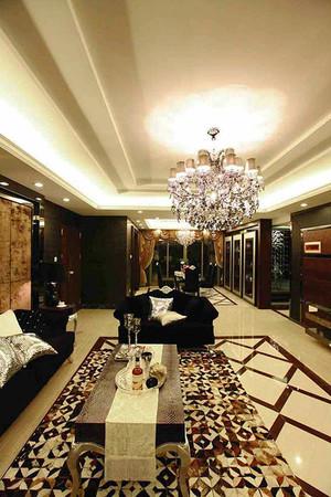 140平米新古典主义风格大户型室内装修效果图