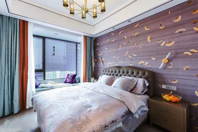 簡歐風格精致臥室背景墻裝修效果圖賞析