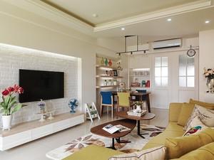 宜家风格温馨两室两厅室内足彩导航效果图案例
