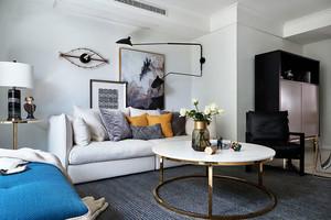 90平米后現代風格精致室內裝修實景圖賞析