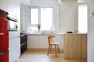 宜家风格简约小户型厨房餐厅足彩导航效果图