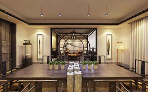 中式风格茶楼设计装修效果图赏析