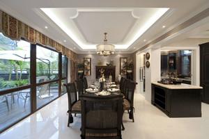 新古典主义风格别墅餐厅装修效果图赏析