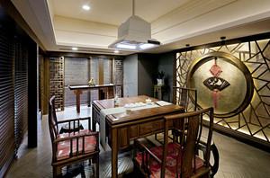 中式风格古典精致茶楼装修效果图赏析