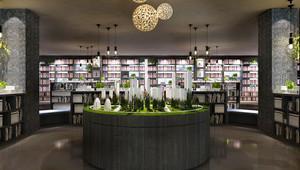 100平米现代风格大型书店装修效果图