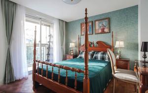 卧室 美式 局部其他 三居室装修