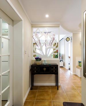 混搭風格清新時尚兩室兩廳室內設計實景圖