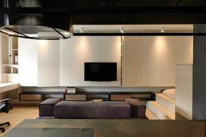 54平米简约风格精装单身公寓装修效果图赏析