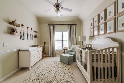 欧式风格温馨婴儿房设计装修效果图赏析