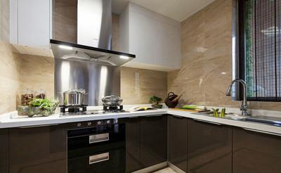 簡約風格廚房設計裝修實景圖