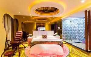 歐式風格精美酒店客房設計裝修效果圖