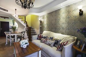 混搭風格精美復式樓室內設計裝修效果圖