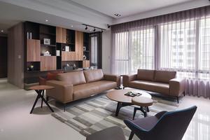 90平米后現代風格精致室內裝修效果圖
