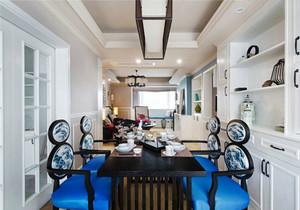 奢华大气新古典主义风格餐厅设计装修图