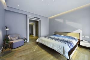 簡約風格寬敞舒適臥室設計裝修效果圖